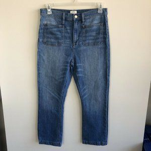 J. Crew Billie Demi Boot Jeans Medium Wash Jeans